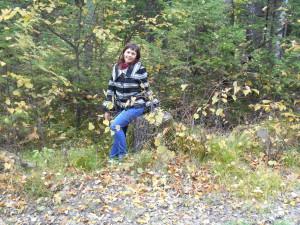 Осенний яблочный пирог... или наша яркая осень)))